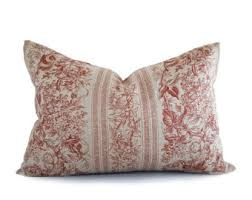 rustic pillows etsy