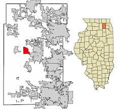 Il Zip Code Map by Lily Lake Illinois Wikipedia