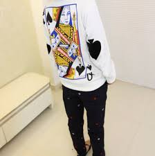 this card sweater is a must on the hunt
