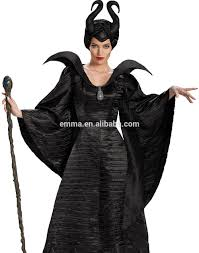 Quality Halloween Costumes Sale Maleficent Sleeping Beauty Black Gown Halloween