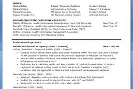 Sample Resume For Medical Billing And Coding by Medical Billing And Coding Resume Medical Billing And Coding