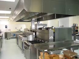 stylish commercial kitchen design in sophisticated arrangement