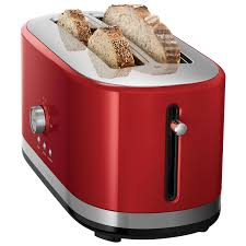 Red Toasters For Sale Kitchenaid Long Slot Toaster 4 Slice Empire Red Toasters