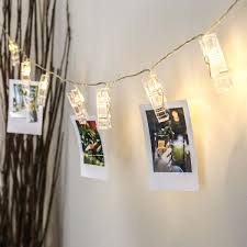 Indoor Fairy Lights Bedroom by Battery Peg Fairy Lights Warm White Leds 2m
