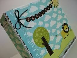 baby boy scrapbook album album do santiago mini album para bebé scrapbooking baby boy