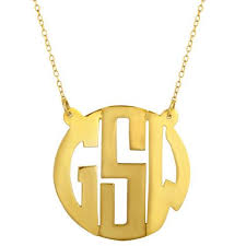 Monogram Necklaces Monogram Necklaces U2013 Blue Beetle