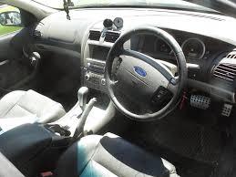 Ford Falcon Xr6 Interior 2004 Ba Xr6 Turbo Sedan Now Wrecking In Mercury Silver M7