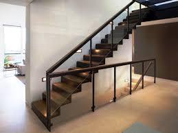 interior design contemporary railings for interior stairs home