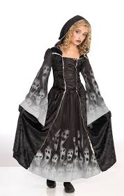 girls witch zombie bride vampiress gothic ghost halloween fancy