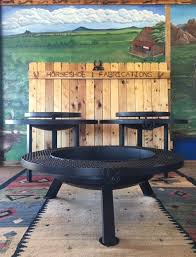 Horseshoe Fire Pit by Custom Firepits Bbq Grills U0026 Picnic Tables In West Texas