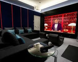 room with black walls home cinema with black walls design ideas decor inspiration