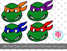 image gallery ninja turtle face silhouette