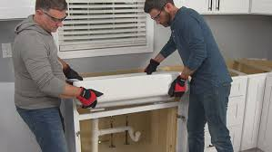 how to install farm sink in cabinet how to install a farmhouse sink