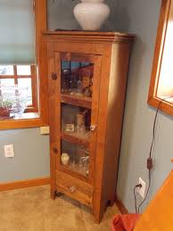 Antique Corner Curio Cabinet Curio Cabinet Excellent Maple Curio Cabinet Picture Design