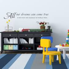 Wall Quotes For Living Room by Inspirational Wall Quotes Walt Disney Sayings Child U0027s Room