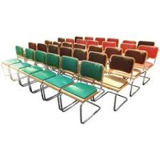 Cesca Armchair Marcel Breuer U0027cesca U0027 Chairs Chrome And Cane Dining Chairs At 1stdibs