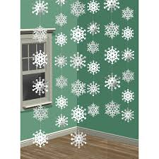 amazon com amscan winter wonderland christmas 3 d snowflake