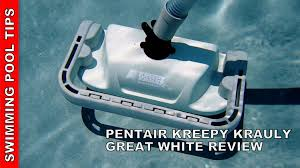 KREEPY KRAULY GREAT WHITE Suction Side Cleaner Review