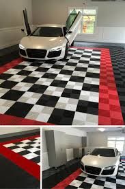 best images about epoxy and swisstrax flooring pinterest can you imagine this car living garage with plain concrete floor neither
