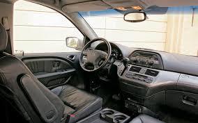 Honda Odyssey Interior 2005 Honda Odyssey Touring Long Term Road Test Verdict U0026 Review