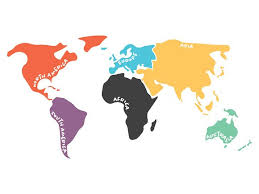 map continents map of continents illustrations creative market