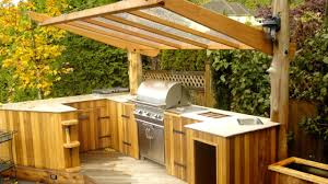 Outdoor Kitchen Furniture by 40 Outdoor Kitchen And Grill Ideas 2017 Small And Big Outdoor