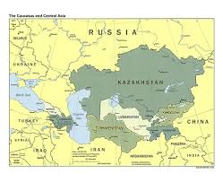 Political Map Asia by Maps Of The Caucasus And Central Asia Caucasus And Central Asia