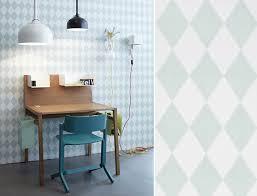 papier peint bureau papiers peints géométriques pour un bureau au fil des
