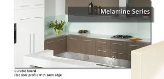 Melamine Flatpack Kitchen Cabinets By Custom Flatpack - Kitchen cabinets melamine