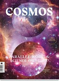 what is cosmos doing sporting a cover story on parallel cosmos