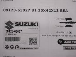 suzuki nos gs550 ts185 gr650 rm500 wheel bearing 08123