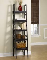 Bookcase With Ladder Ikea by Leaning Ladder Shelf Amazing Leaning Ladder Shelf Misc Leaning