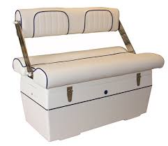 Bench Seat With Storage Boat Bench Seat 2 Seater With Reversible Backrest With
