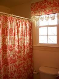 Shower Curtain Matching Window Curtain Set The Crossing Master Bathroom Inspiration Orange Shower Curtain