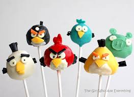 birthday cake pops angry birds the obsession continues the girl who ate everything