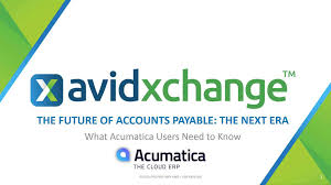 the future of accounts payable for acumatica users avidxchange
