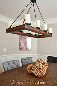 Dining Room Chandeliers Transitional Our New Transitional Dining Room Whats Ur Home Story