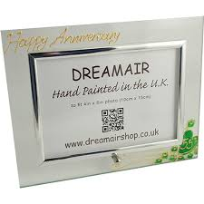 55th wedding anniversary 55th anniversary emerald wedding gift photo frame l