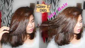 how i dye my hair at home jaja garcia youtube