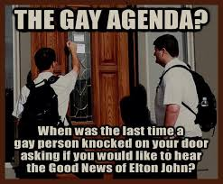 Agenda Meme - the gay agenda atheism know your meme