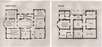 elizabeth bay house sydney first floor and basement plans