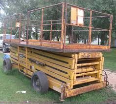 1979 jlg 35s sizzor r t scissor lift item b8110 sold th