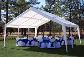 tent party king canopy 20 ft w x 20 ft d steel party tent reviews wayfair