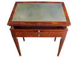 Antique Wooden Drafting Table by A Directoire Architect Table Called à La Tronchin Ref 59822