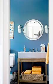 theme bathroom ideas themed bathroom ideas themeting master half navy blue