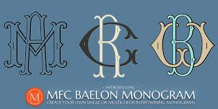 initial fonts for monogram monogram fonts co myfonts