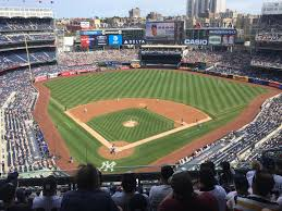 yankee stadium standing room only baseball seating