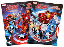 amazon marvel avengers coloring books 2 coloring book