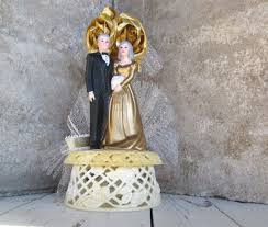 50th wedding anniversary cake topper vintage 50th wedding anniversary cake topper by cleoandblanche