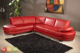 Cheap Red Leather Sofas by Red Sectional Couch Sectional Sofa Set In Red Bonded Leather